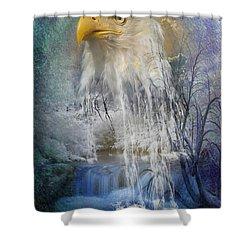 Eagle Falls Shower Curtain