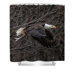 Eagle Fisher Shower Curtain