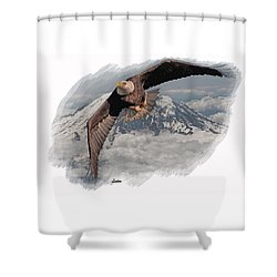 Eagle Flight 6 Shower Curtain