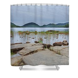 Eagle Lake Acadia National Park Shower Curtain