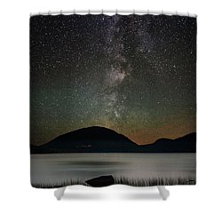 Eagle Lake And The Milky Way Shower Curtain