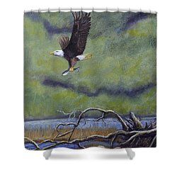 Eagle River Shower Curtain