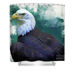 Eagle Shower Curtain
