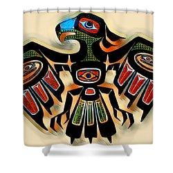 Eagle Symbol 2 Shower Curtain