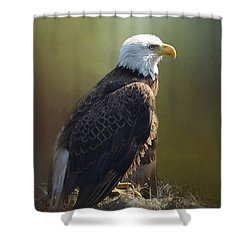 Eagles Rest Ministries Shower Curtain