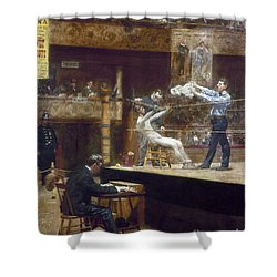 Eakins: Between Rounds Shower Curtain by Granger