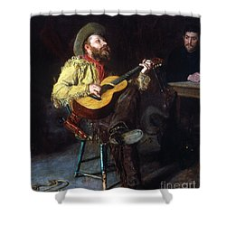 Eakins: Home Ranch, 1892 Shower Curtain by Granger