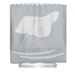 Eames Rocking Chair Shower Curtain