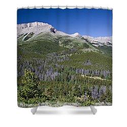 Ear Mountain, Montana Shower Curtain