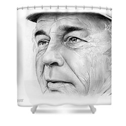 Earl Weaver Shower Curtain by Greg Joens