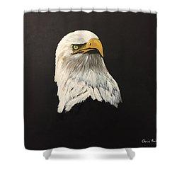 Eagle Earl's Power Shower Curtain
