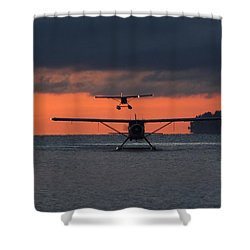 Early Arrivals Shower Curtain