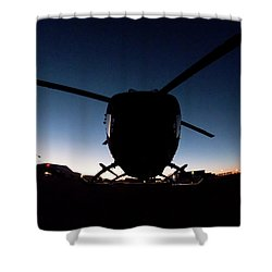 Shower Curtain featuring the photograph Early Bird by Paul Job