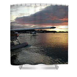 Early Departures Shower Curtain