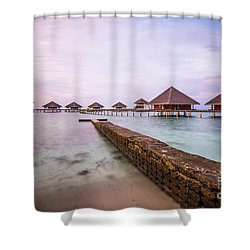 Shower Curtain featuring the photograph Early In The Morning by Hannes Cmarits