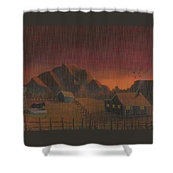 Early Mornin' Shower Curtain by Sheri Keith