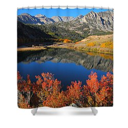 Early Morning At North Lake In Bishop Creek Canyon Shower Curtain