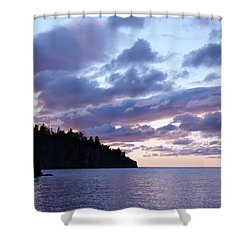 Early Morning At Tettegouche Shower Curtain