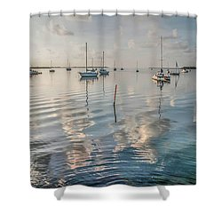 Early Morning Calm Shower Curtain