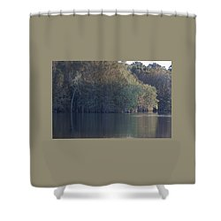 Early Morning Cove - Lake Marion Shower Curtain