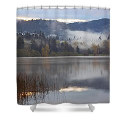 Early Morning Shower Curtain by Elvira Butler