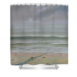 Early Morning Fog Shower Curtain