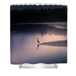 Early Morning Greeter Shower Curtain
