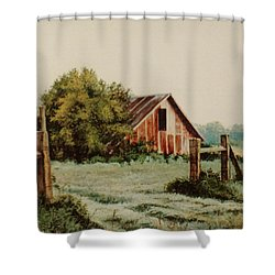Early Morning In East Texas Shower Curtain