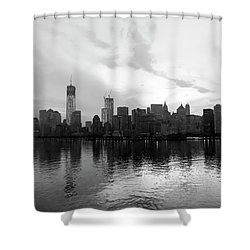 Early Morning In Manhattan Shower Curtain