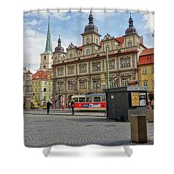 Early Morning In Prague Shower Curtain