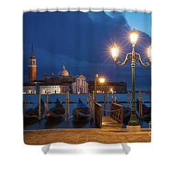 Shower Curtain featuring the photograph Early Morning In Venice by Brian Jannsen