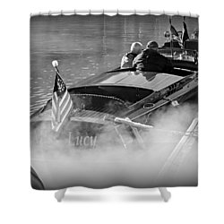 Early Morning On The Lake Shower Curtain