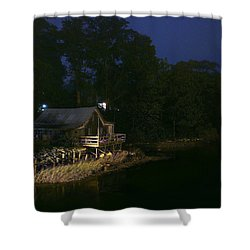 Early Morning On The River Shower Curtain