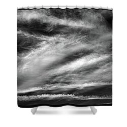 Shower Curtain featuring the photograph Early Morning Sky. by Terence Davis