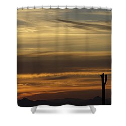 Early Morning Spectacular Shower Curtain by Anne Rodkin