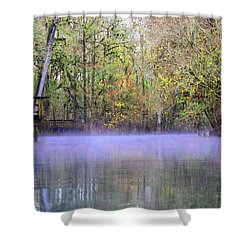 Early Morning Springs Shower Curtain