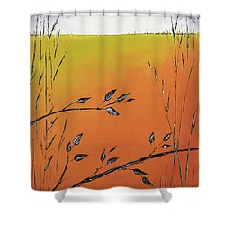 Early Spring  Shower Curtain by Carolyn Doe