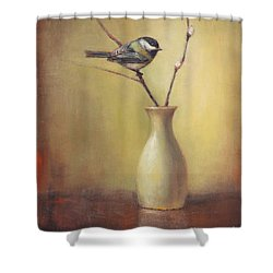 Early Spring Still Life Shower Curtain