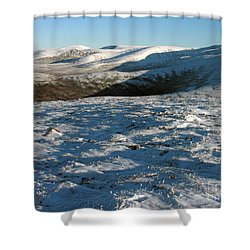 Early Winter In The Cairngorms  Shower Curtain by Phil Banks
