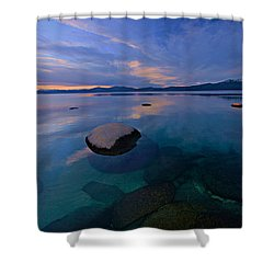 Early Winter Shower Curtain by Sean Sarsfield