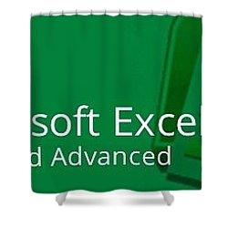 Earn Excel Shower Curtain