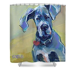 Ears Shower Curtain by Kimberly Santini