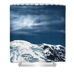 Earth And Heaven Shower Curtain by John Rossman