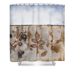 Earth And Sky II Shower Curtain by Carolyn Doe