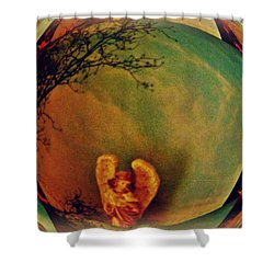 Earth Angel Shower Curtain
