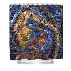 Earth Gems #18w01 Shower Curtain