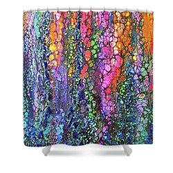 Earth Gems #18w02 Shower Curtain
