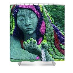 Earth Goddess Shower Curtain