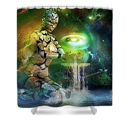 Earth Life Shower Curtain