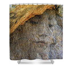 Shower Curtain featuring the photograph Earth Memories-stone # 4 by Ed Hall